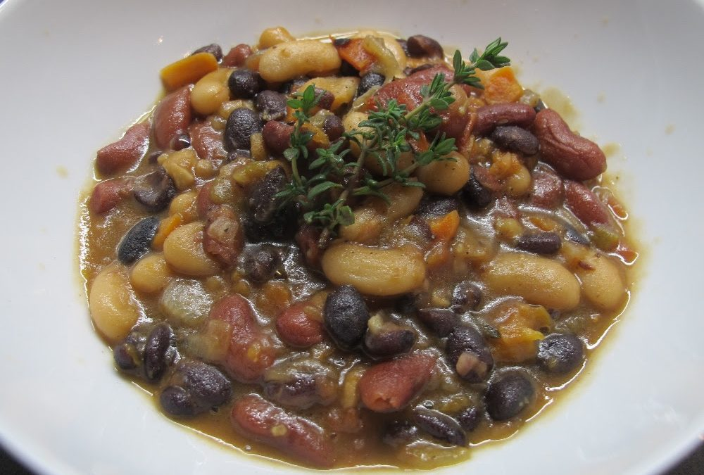 Chef Freddie's Three-Bean Ragout